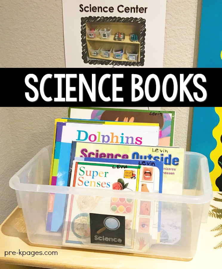 Science Center Books About Science