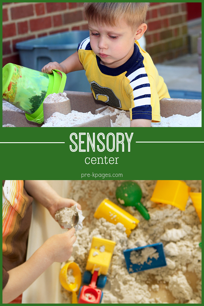 Sensory Bin for Preschool Class