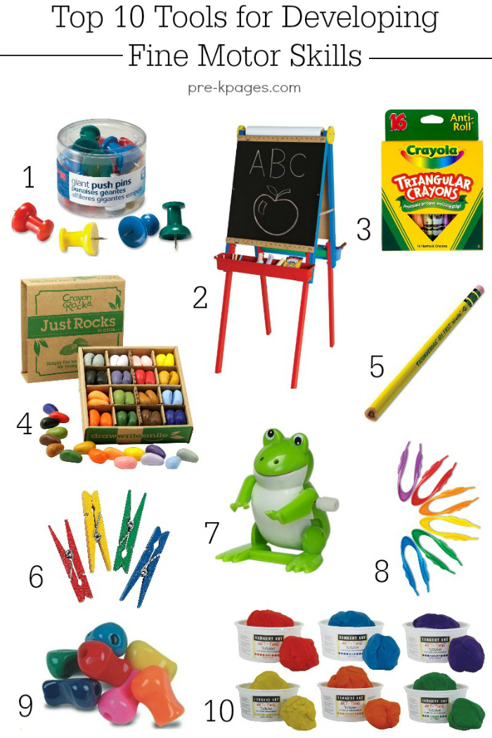 Tools for Developing Strong Fine Motor Skills