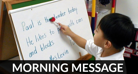 What is Morning Message?