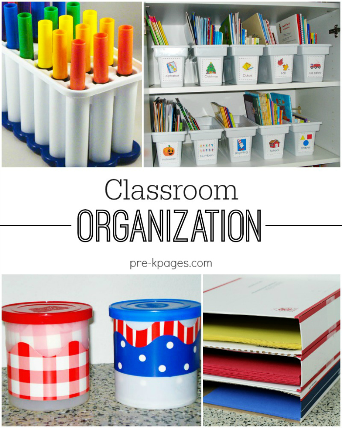 Classroom Organization Tips for Preschool and Kindergarten Teachers