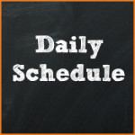 Daily Schedule for Pre-K and Preschool