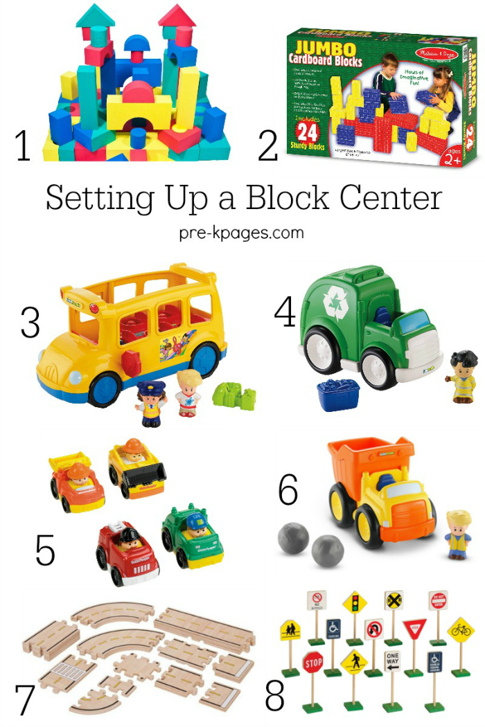 Tips for Setting Up a Block Center in Preschool