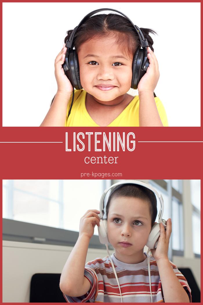 Listening Center for Preschool