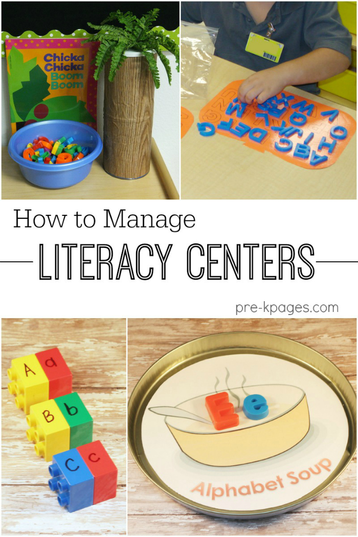 How to Manage Literacy Centers in Pre-K and Kindergarten