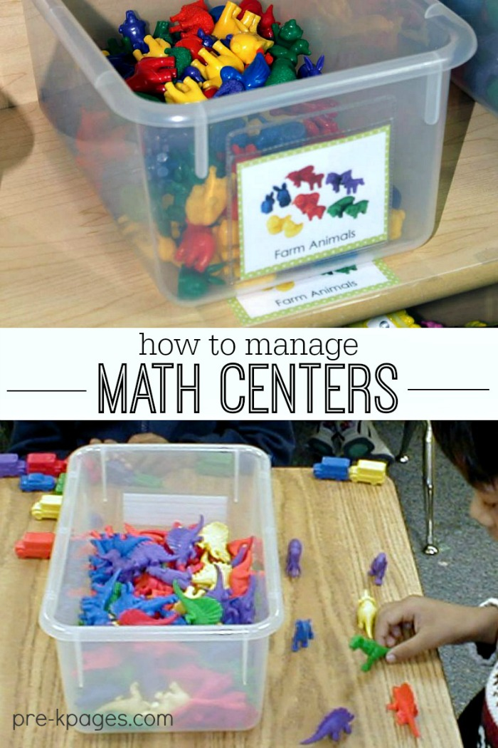 centers in preschool how to manage math centers 178