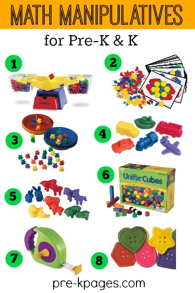 Best Math Manipulatives and Tools for Preschool and Kindergarten