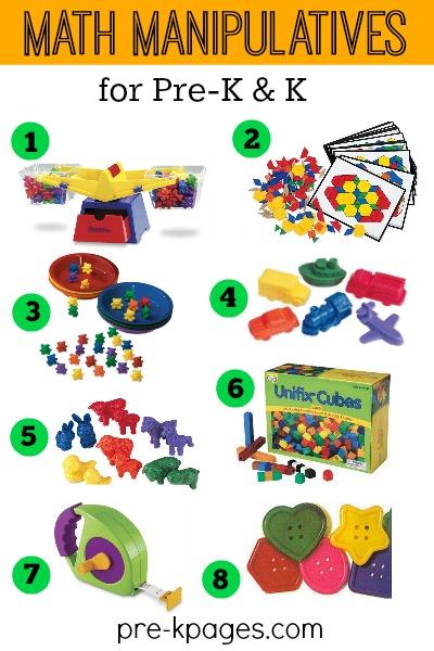 math tools for preschool - Math Manipulatives For Kindergarten