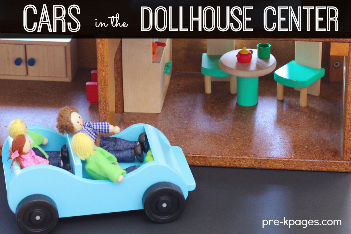 Vehicles in the Dollhouse Center