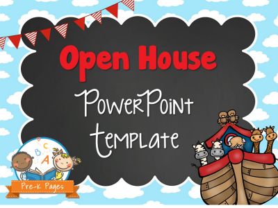 Noah's Ark Open House Presentation Template