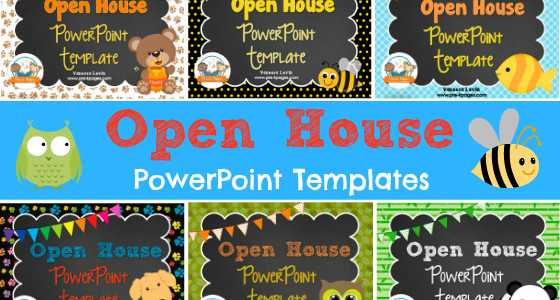 Back to School Open House Power Point Templates