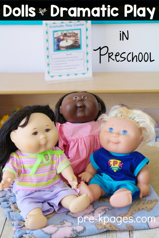 Dolls for Pretend Play in Preschool