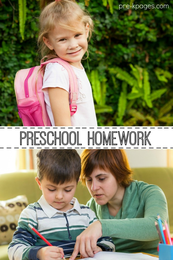 Preschool Homework Tips and Ideas for Teachers and Parents