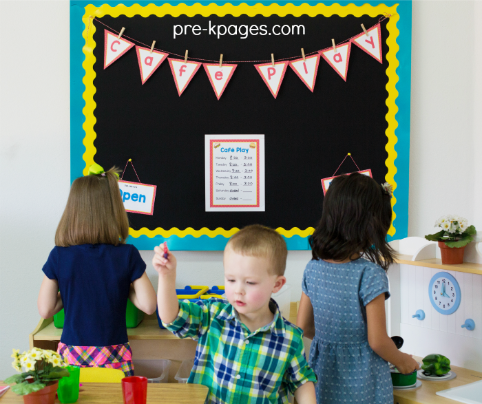 Classroom Layout For Toddlers ~ Dramatic play center in preschool pre k and kindergarten