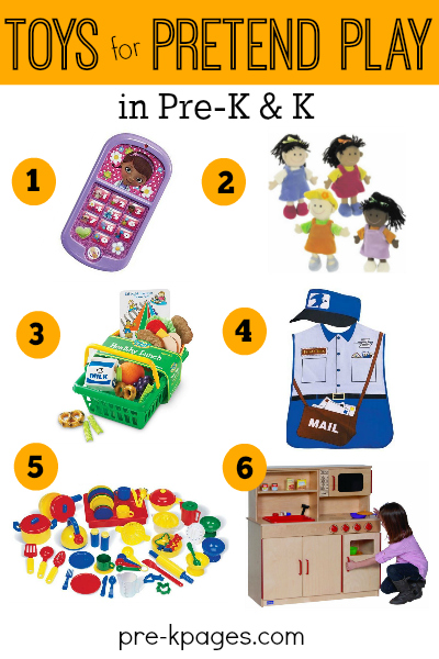 Pretend Play Toys for Preschoolers