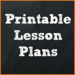 Printable Lesson Plans for Pre-K and Kindergarten
