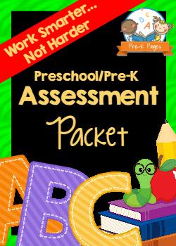 Printable Preschool Assessment Packet