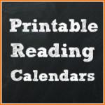 Printable Reading Calendars