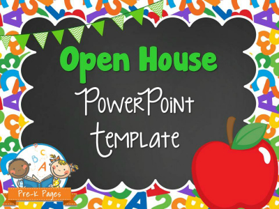 School Theme Open House Presentation