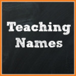 Teaching Names