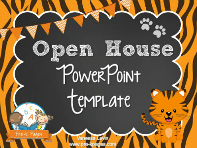 Tiger Open House Power Point Presentation