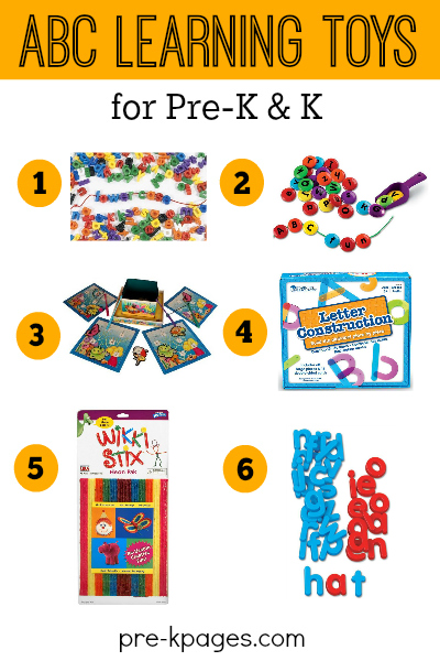Alphabet Learning Toys : What s in your abc center