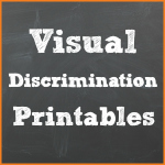 Visual Discrimination Printables