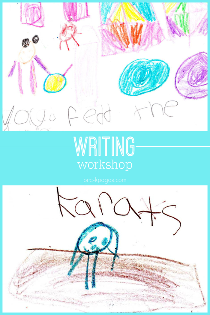 Tips for Teaching Writers Workshop in Pre-K and K