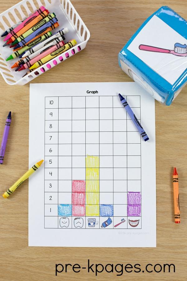 Maths Activity For Preschoolers on Goldfish Graphing Preschool