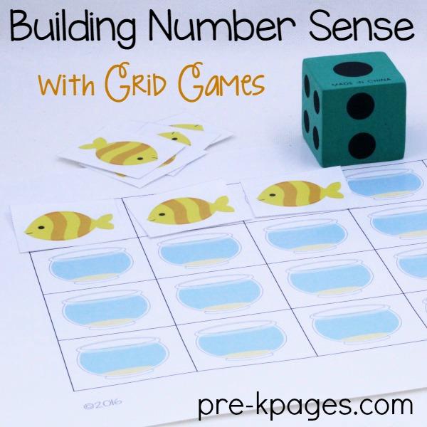 Printable Fish Grid Game