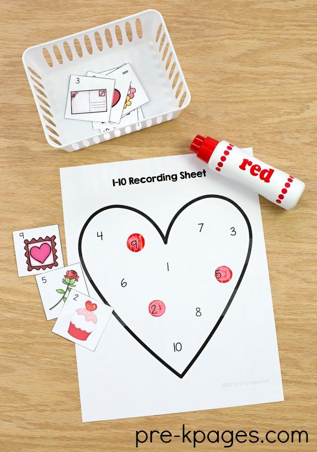 Valentines Day Theme Activities