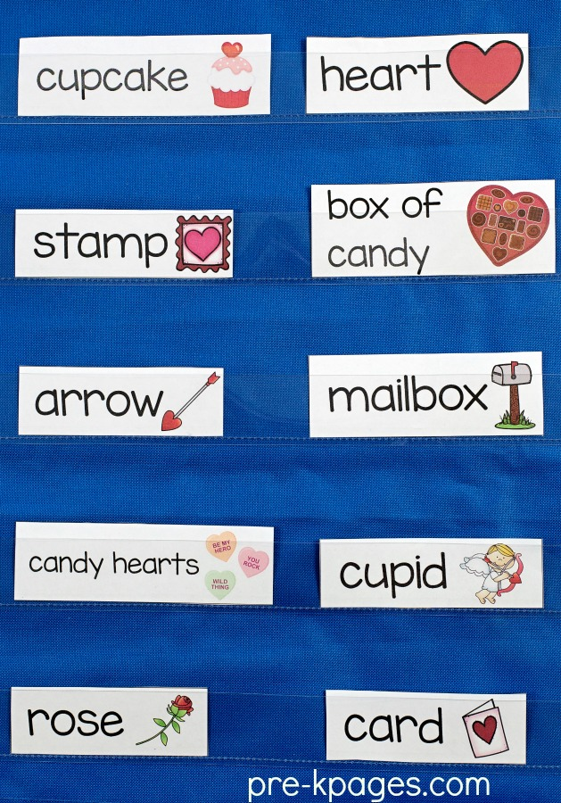 Valentines Day Theme Activities for Preschool