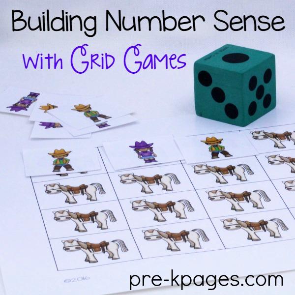 Printable Western Grid Game