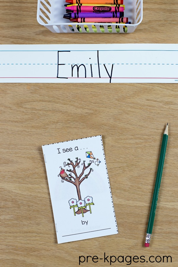 Spring Printable Emergent Reader