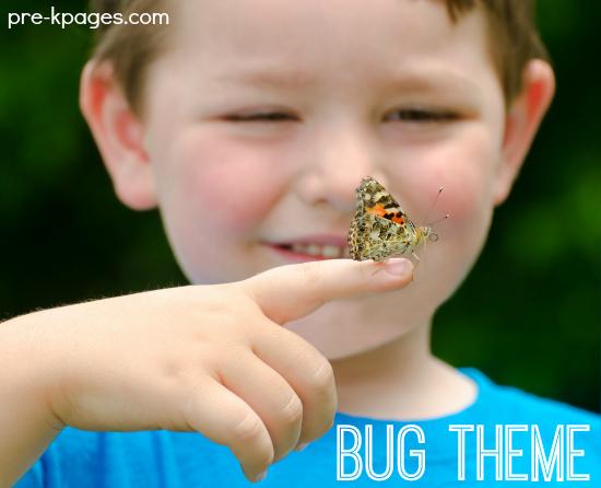 Bug Theme Learning Activities for Preschool and Kindergarten