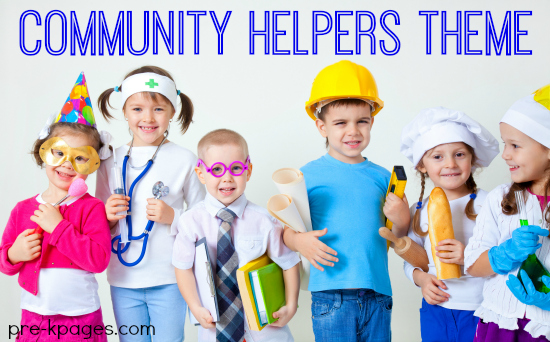 Community Helper Learning Activities for Preschool and Kindergarten