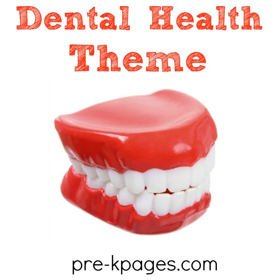 Preschool Dental Health Theme Activities