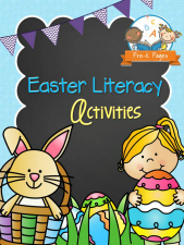Printable Easter Literacy Activities for #preschool and #kindergarten