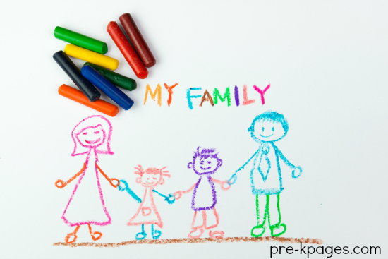 Family Theme Activities for Preschool and Kindergarten