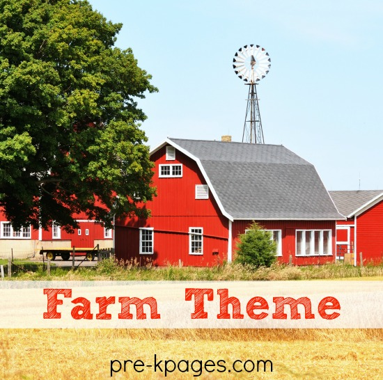 Preschool Farm Activities