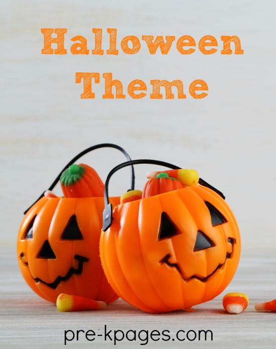 Preschool Halloween Theme Activities