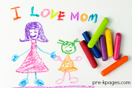 Mother's Day Ideas for Preschool and Kindergarten