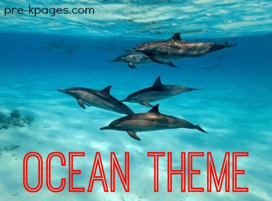 Ocean Theme Activities In Preschool