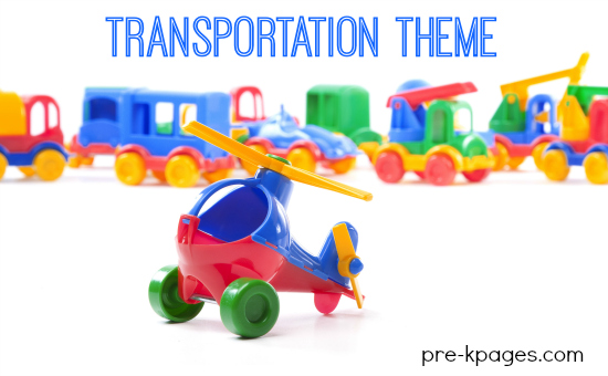 Transportation preschool theme activities for Transportation crafts for preschoolers