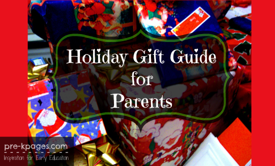 Holiday shopping guide for parents of preschool and kindergarten