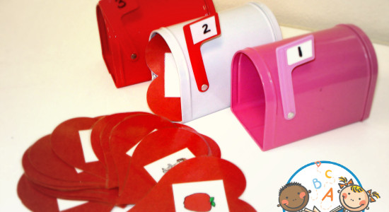 Valentine Syllables Activity for Preschool