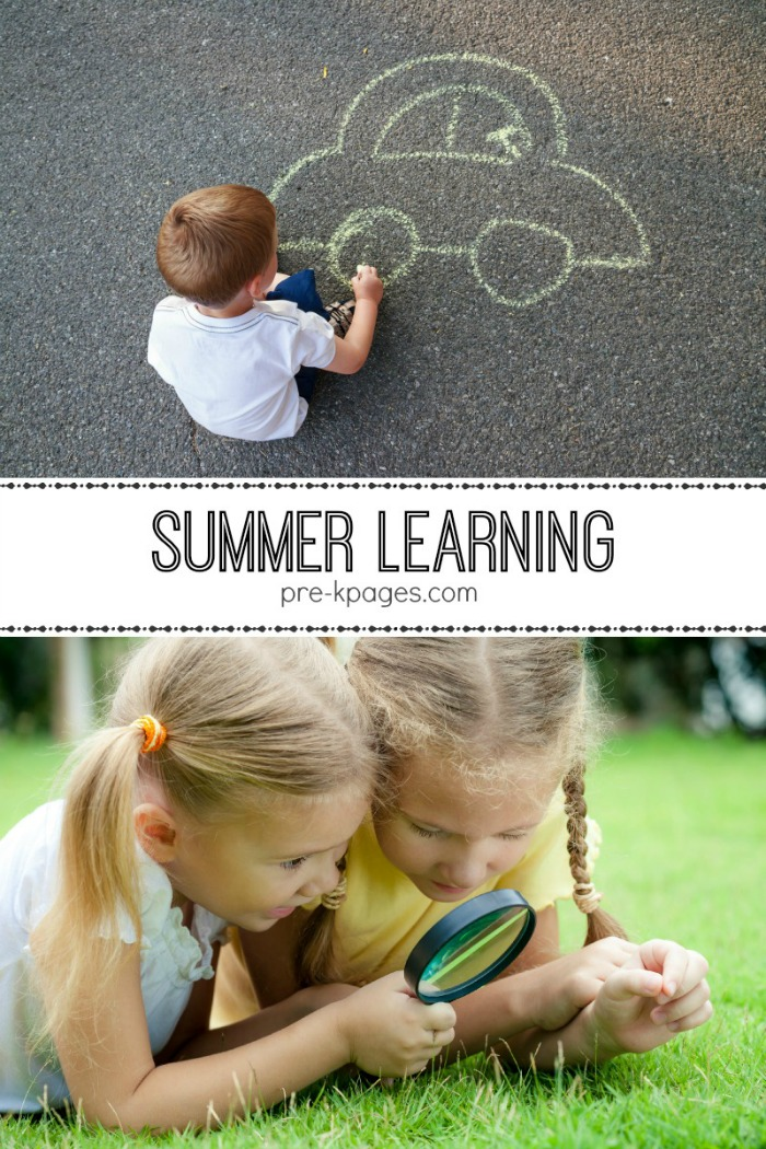 summer packet for preschool and kindergarten