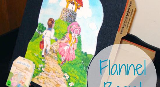 Pizza Box Flannel Board