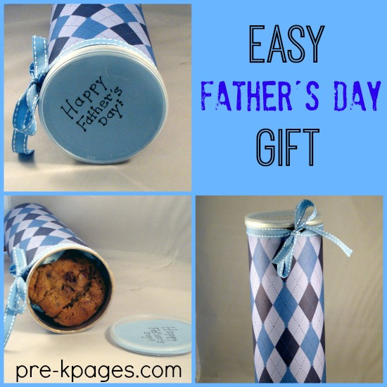 Upcycled Father's Day Cookie Gift