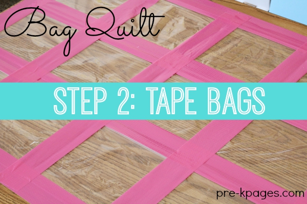 DIY Bag Quilt Board Game for Preschool and Kindergarten